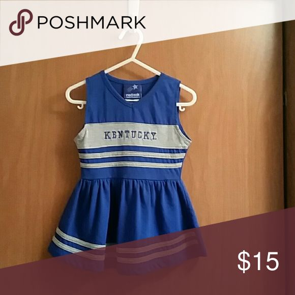 UK Kentucky Cheerleading Sportswear One Piece Dresses Casual
