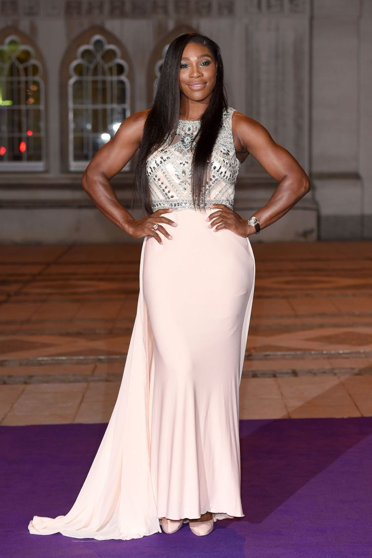 Serena Williams attends the Wimbledon Champions Dinner at The Guildhall in London on July 12, 2015. - Cosmopolitan.com