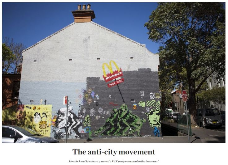 The anti-city movement: How lock-out laws have spawned a DIY party movement in the inner-west #DIYparty #Party #StreetParty #PartyTips #Sydney #InnerWest
