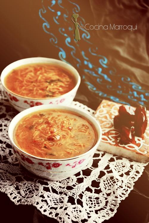 Nueva Cocina Marroqui: Chorba de Fes