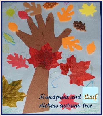 Fall Tree Collage craft/Art