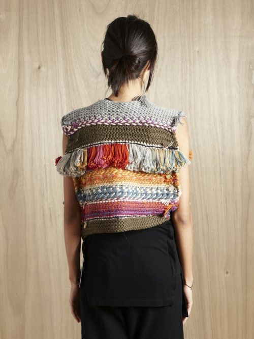 Suno, combination of crochet, knit, and other things