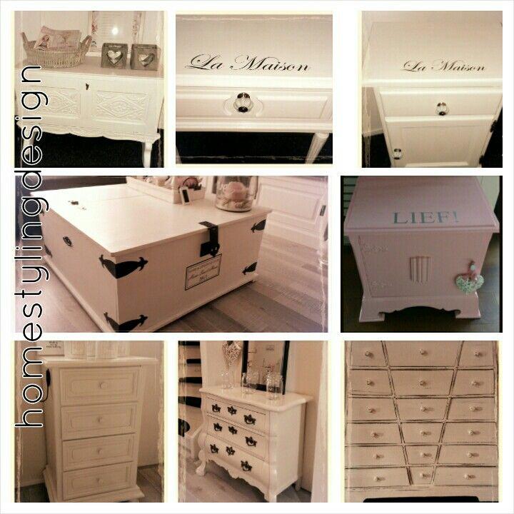 Opgeknapte meubels by homestylingdesign