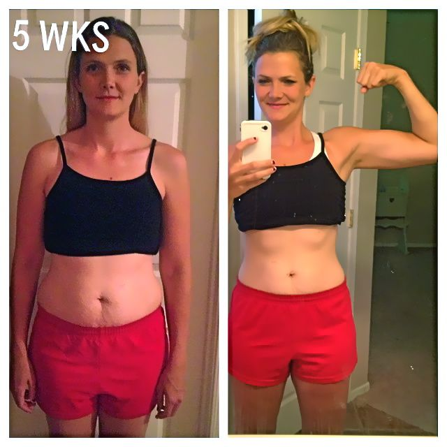 My 5 wk. clean eating & fitness results PLUS a Nutrasumma feature and ...