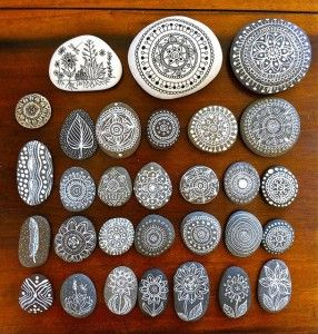 DIY: ¡11 fantásticos proyectos con piedras! #loveit