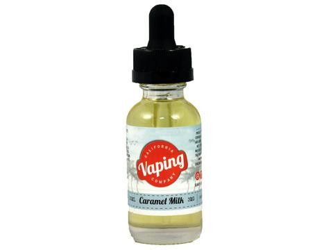 Caramel Milk - California Vaping Company #vape #vaping #eliquid