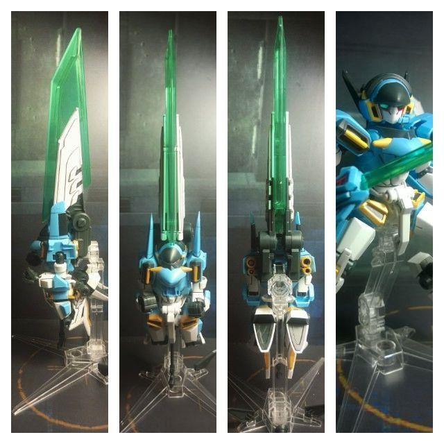 LBX Ikaros Force blade modes