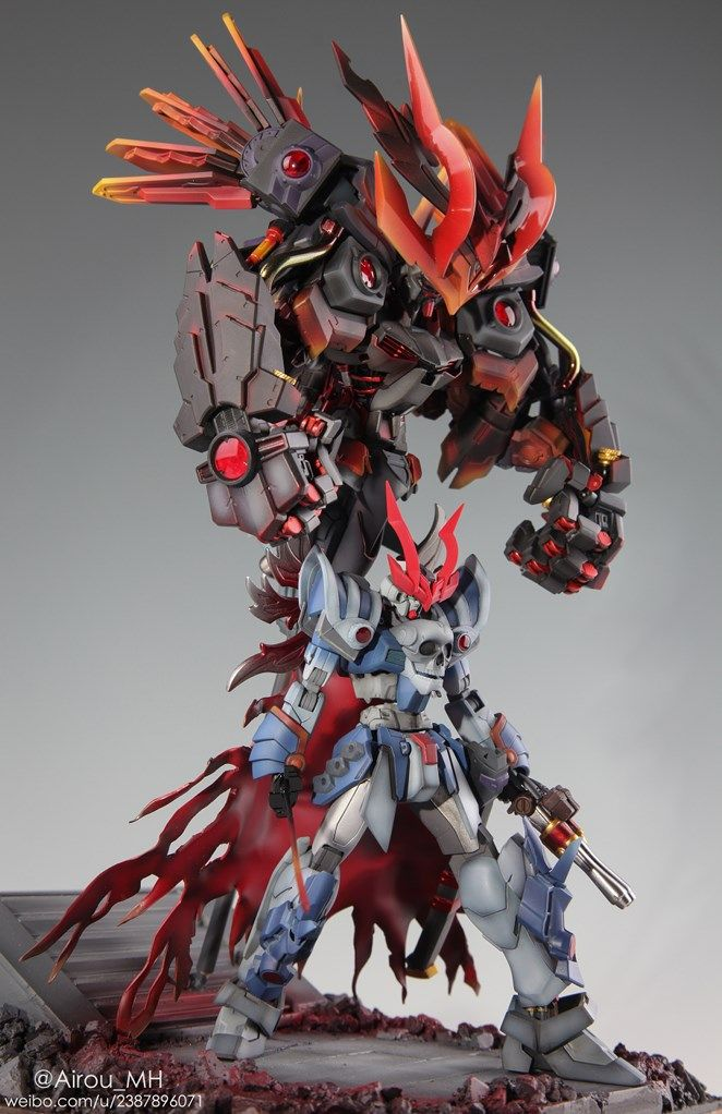GUNDAM GUY: The Devil King of the Sixth Heaven - Diorama Build                                                                                                                                                                                 More