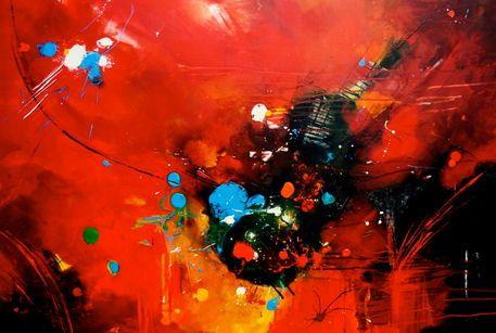 'Im Farbrausch' von Claudia Neubauer bei artflakes.com als Poster oder Kunstdruck $6.48