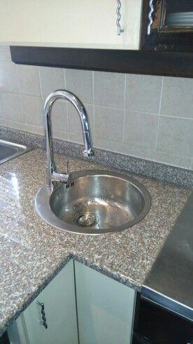 New prep bowl and mixer installation