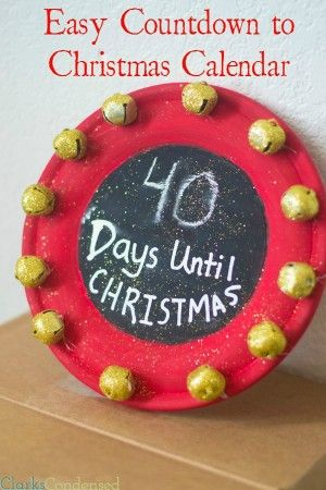 Easy Countdown To Christmas.