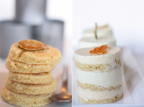 orange buttercake with lime mousse | baking | Pinterest