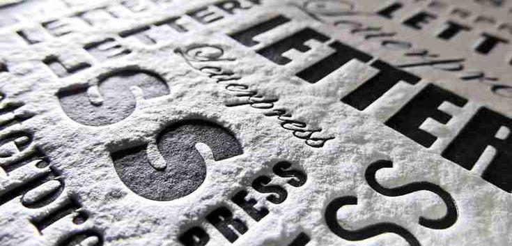 #HandmadePaper for #Letterpress