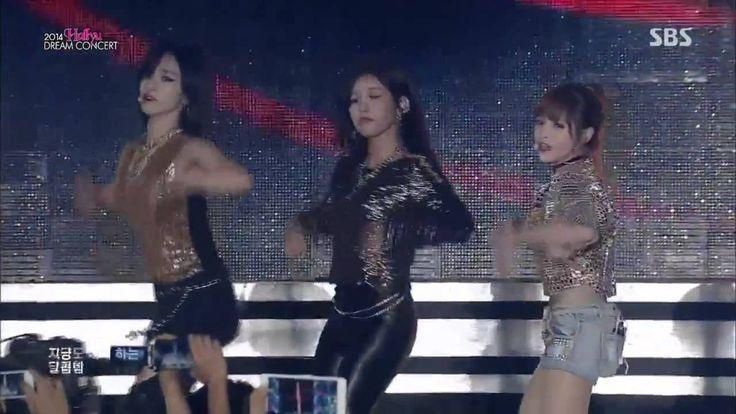 141012 T-ara (티아라) - Sugar Free @ 2014 Hallyu Dream Concert
