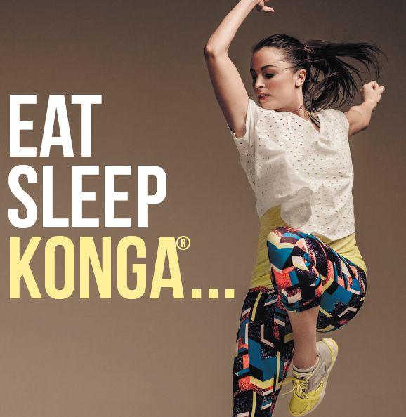 Eat, Sleep, KONGA