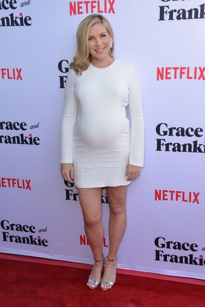 June Diane Raphael Evening Sandals - June Diane Raphael styled her frock with silver ankle-strap sandals.