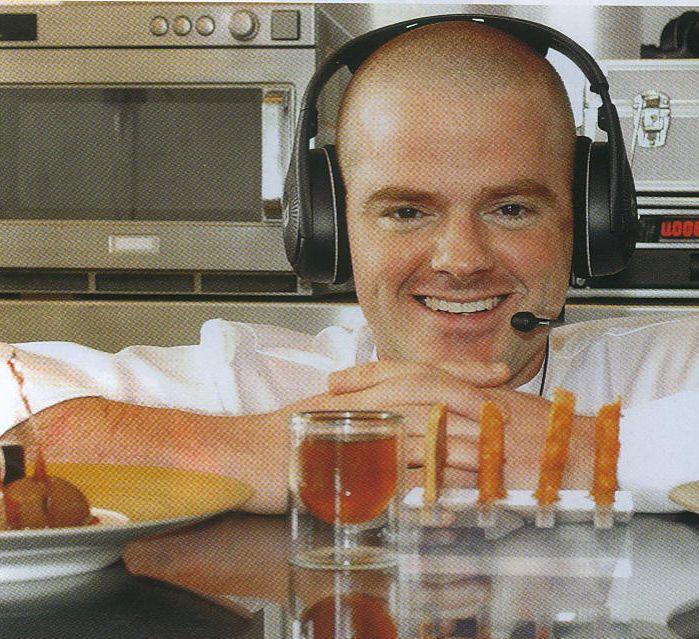 Heston Blumenthal - The Fat Duck Chef - Michelin stars - Silodesign's Original double wall glass.
