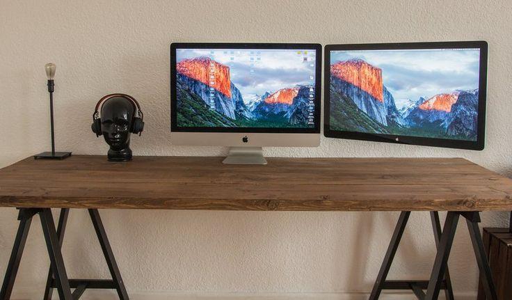 DIY Schreibtisch