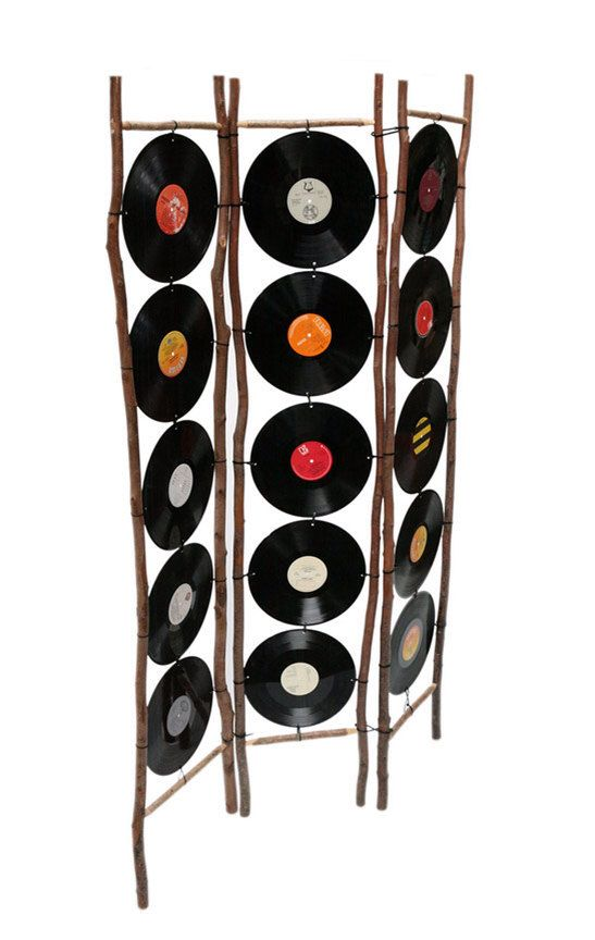 Extended Play Screen Upcycled vinyl record by MayFlyEtsyShop, €250.00