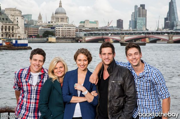 Home and Away, The River Boys and Ricky and Bianca take on London episodes