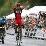 American George Hincapie of BMC Racing Team Rises to the Top to Win Stage 2 of the 2011 USA Pro Cycling Challenge