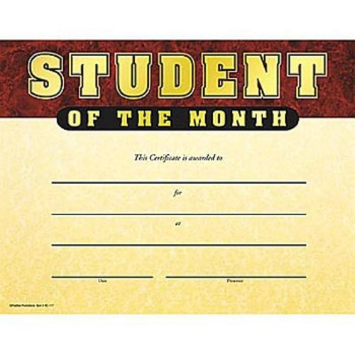 19 best student of the month images on Pinterest Pin boards - best of printable student of the month certificate