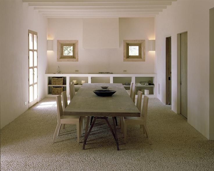 Finca Mansion in Mallorca, Spain by Vincent Van Duysen. Photo by Alberto Piovano.