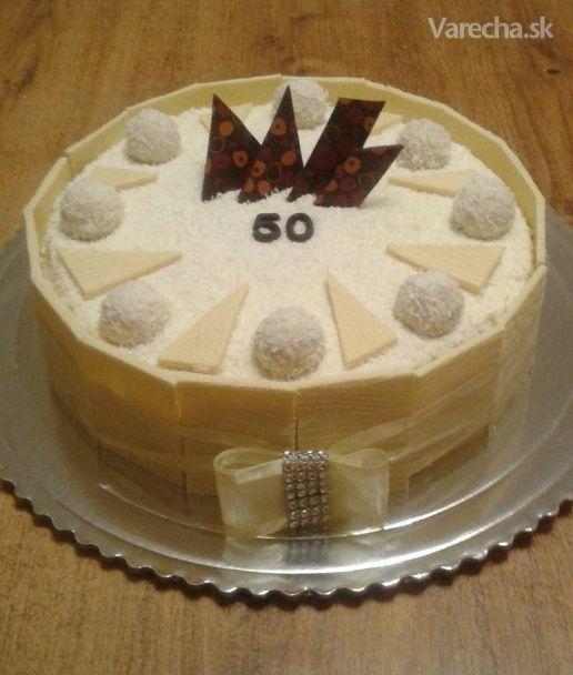 Torta Raffaello - Recept