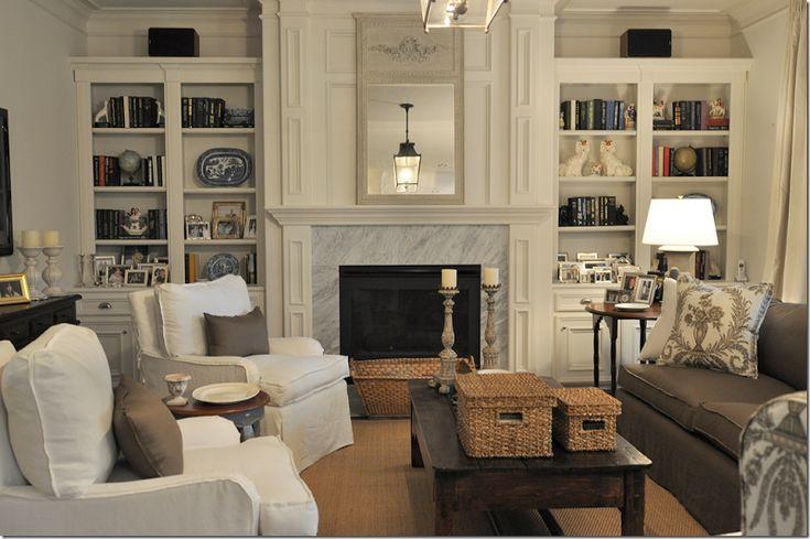 Family room design by Joni Webb, Cote de Texas