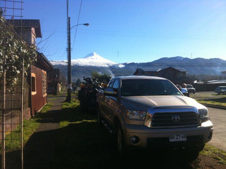 partiendo al sendero mapuche