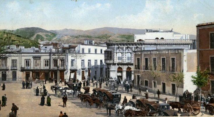 Puerta Purchena (Almería), año 1895