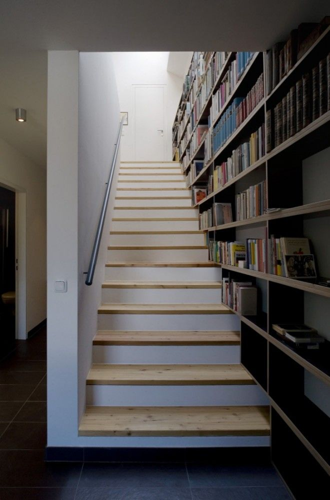 17 best images about escaleras on pinterest home design traditional decor and bookcases. Black Bedroom Furniture Sets. Home Design Ideas