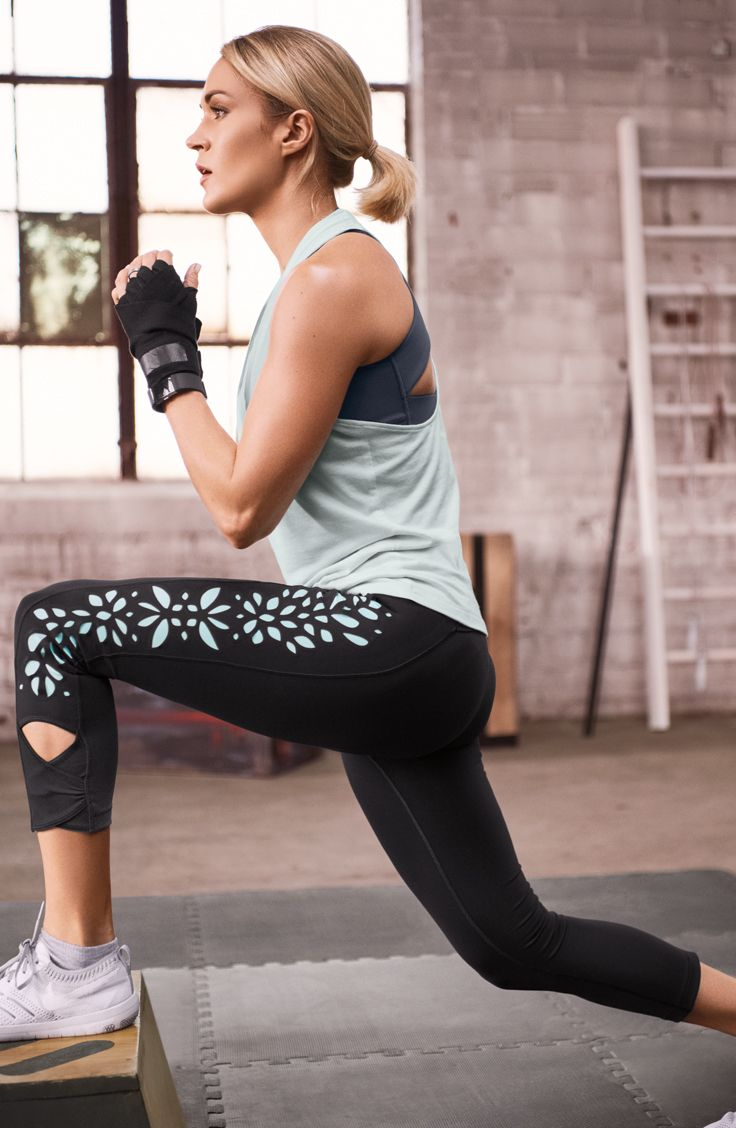 Take your studio look to the next level with the CALIA™ by Carrie Underwood Women's Laser Cut Capris. Smooth performance fabric lends a supportive fit, while laser-cut details create a sleek and unique look. Stretch properties grant a better range of motion, while wicking and antimicrobial features keep you dry and fresh. Finished with a wide waistband and zip pocket, the CALIA™ Laser Cut Capris bring new dimension to your active wear.