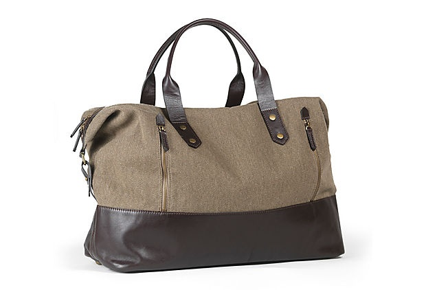 Jones Duffel, Olive on OneKingsLane.com
