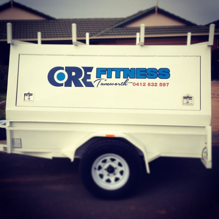 core fitness trailer