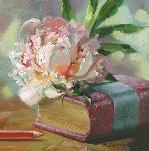 "Daily Paintworks - ""Memories"" - Original Fine Art for Sale - © Natali Derevyanko"