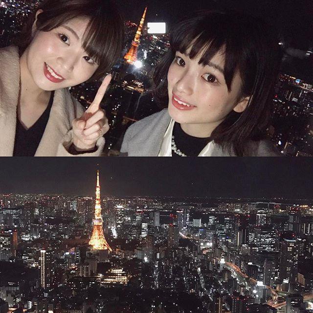 Instagram【suu_gaa】さんの写真をピンしています。 《1.28 東京タワー🗼 . ののと話してて やっぱり赤だね!という結論に。 スカイツリーの青は 綺麗だけど少しさみしいもんね☃️ . #とりあえず連投おしまい #すがのの #週末 #デート #サロモ  #付き合ってるわけないよ👮🏻 #六本木ヒルズ #展望台 #夜景 #イベント #星空のイルミネーション #東京タワー #感動 #stars #illumination #roppongi #tokyotower #red  #beautiful #instaphoto #instagood #girls #japan #l4l #followme》