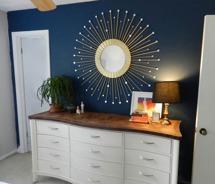 best diy sunburst mirror ive seen i think this might be the one - Design Wall Mirrors