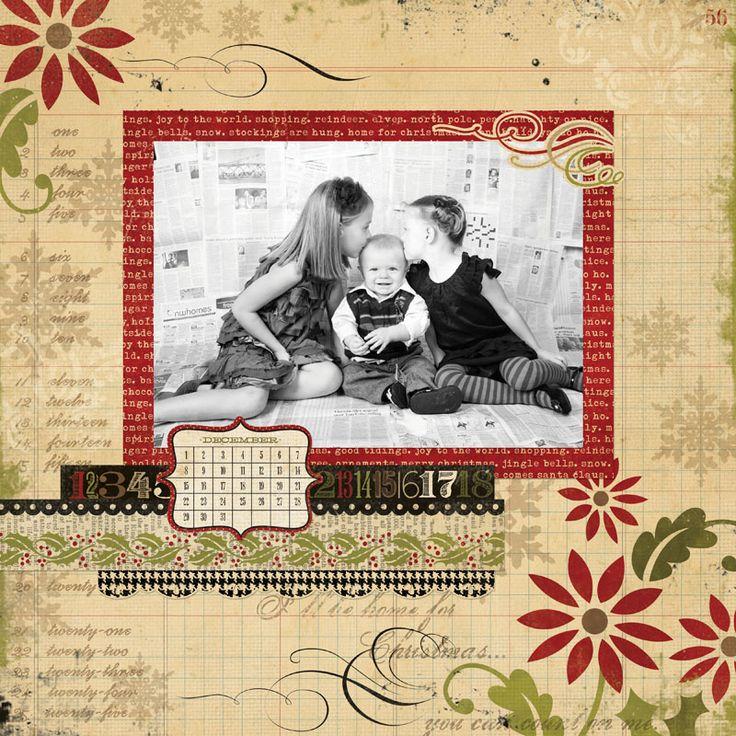 Christmas: Christmas Cards, Cards Ideas, Kids Photo, Christmas Scrapbook, Christmas12X12 Samples, Christmas Scrapebook, Christmas 12X12 Samples, Scrapbook Layout, Christmas Layout