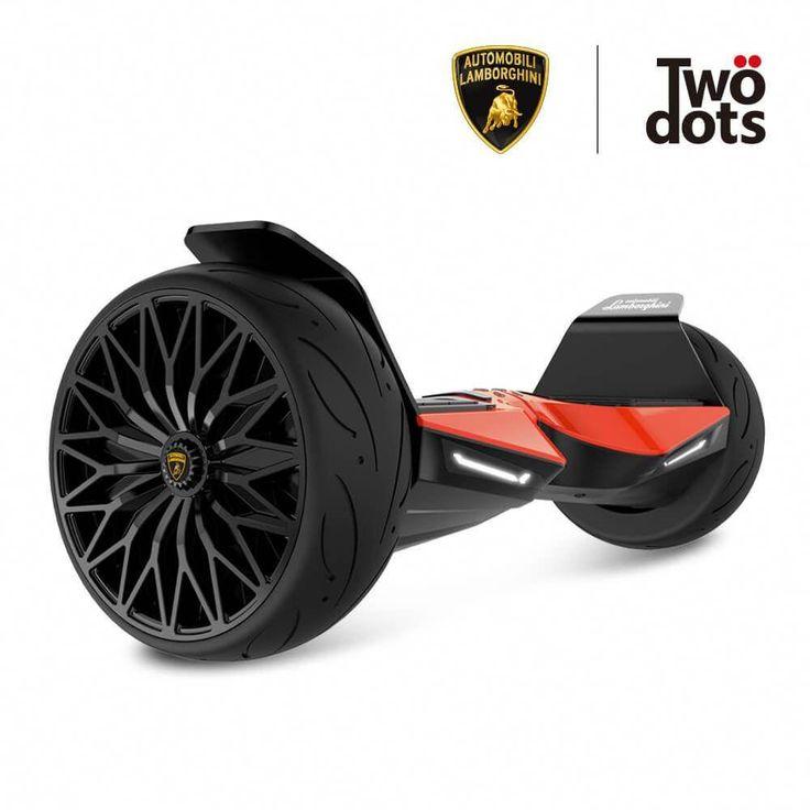 """Automobili Lamborghini Hoverboard With 8.5"""" Alloy Wheels"""