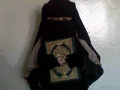 Niqabi little girl ما شاء الله