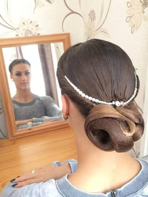 Ballroom competition hair. I love the simplicity of this