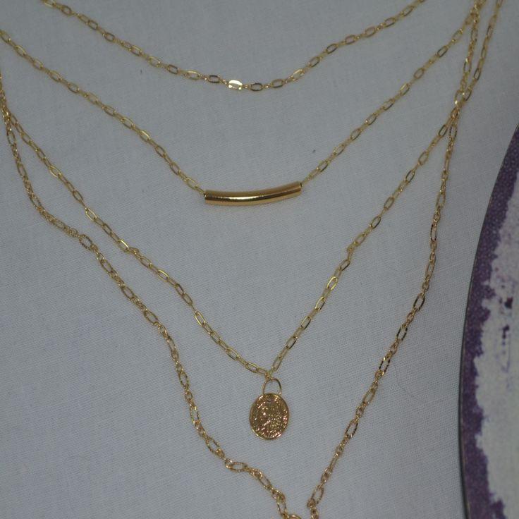 Collar en gold filled