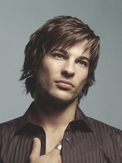 medium hair styles men 25 best ideas about layered bangs hairstyles on 2499 | fdbe582f9d5d088183be116a9622703a