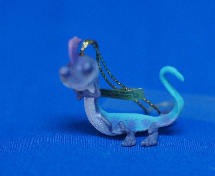 "Monsters Inc Randall 1.5"" Plastic Mini Christmas Ornament Disney Figurine Enesco #Enesco"