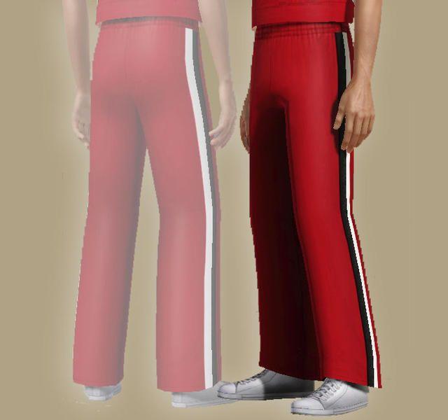 ancsie18's William McKinley High School male cheerleader pants