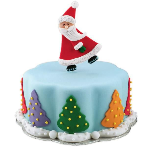Christmas Cake Ideas Wilton : 17 Best images about Christmas Cakes and Cupcakes on ...