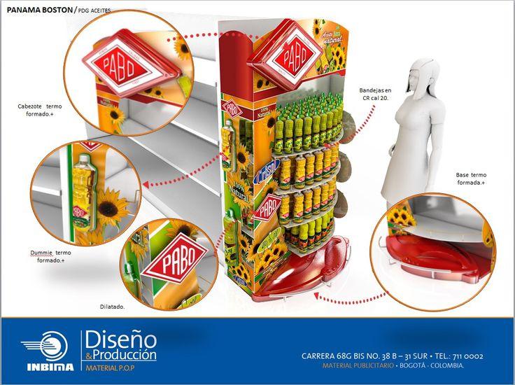 diseño de material publicitario en puntos de venta.