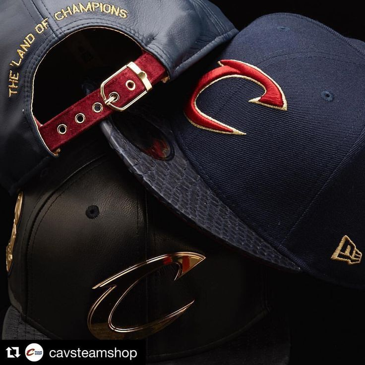 The #CavsNewEra #SixteenSeries is here! Get one of these 48 exclusive caps before they're gone on cavs.com/shop. (at Cleveland Cavaliers Team Shop)