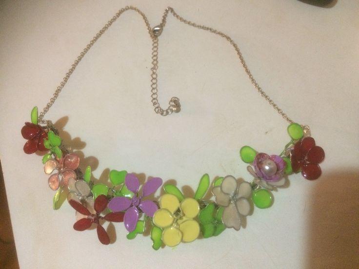 collier fiori di smalto ❤️